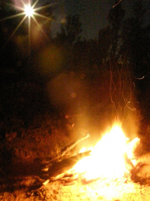 Murrumbidgee campfire