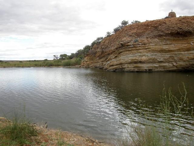 Andamooka Waterhole.