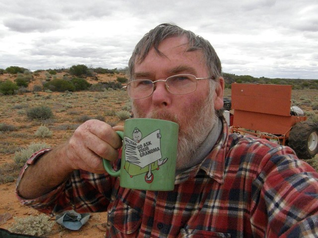 Black tea, Andamooka Waterhole.